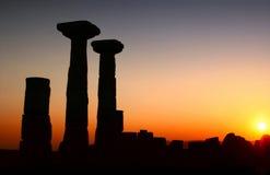 ναός Τουρκία Αθηνάς assos Στοκ εικόνα με δικαίωμα ελεύθερης χρήσης