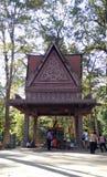 Ναός του Βούδα σε Angkor Wat Στοκ εικόνες με δικαίωμα ελεύθερης χρήσης