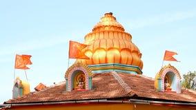 Ναός του Βούδα στην Ινδία απόθεμα βίντεο
