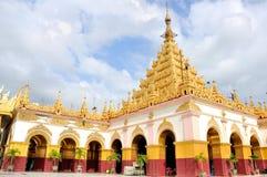 Ναός του Βούδα Mahamuni, Mandalay στοκ εικόνες