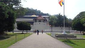 Ναός του δοντιού Kandy Σρι Λάνκα στοκ εικόνες
