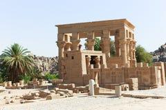 Ναός του Θεού Horus στο νησί Philae - Αίγυπτος Στοκ φωτογραφία με δικαίωμα ελεύθερης χρήσης