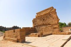 Ναός του Θεού Horus στο νησί Philae - Αίγυπτος Στοκ Φωτογραφίες