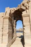 Ναός του Θεού Horus στο νησί Philae - Αίγυπτος Στοκ Εικόνες