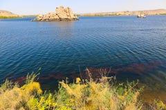 Ναός του Θεού Horus στο νησί Philae - Αίγυπτος Στοκ φωτογραφίες με δικαίωμα ελεύθερης χρήσης