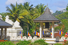 Ναός του ιερού λειψάνου δοντιών, Kandy, Σρι Λάνκα Στοκ φωτογραφία με δικαίωμα ελεύθερης χρήσης
