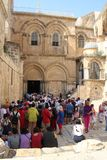 Ναός του ιερού Sepulcher Ιερουσαλήμ στοκ εικόνα