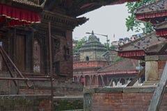 Ναός του Κατμαντού Νεπάλ Στοκ Εικόνες