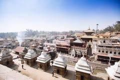 ναός του Κατμαντού Νεπάλ pashupat Στοκ φωτογραφία με δικαίωμα ελεύθερης χρήσης