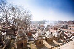 ναός του Κατμαντού Νεπάλ pashupat Στοκ φωτογραφίες με δικαίωμα ελεύθερης χρήσης