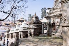 ναός του Κατμαντού Νεπάλ pashupat Στοκ Φωτογραφίες
