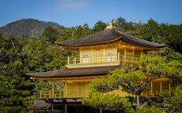 ναός του Κιότο kinkakuji της Ιαπων στοκ εικόνα με δικαίωμα ελεύθερης χρήσης