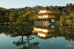ναός του Κιότο kinkakuji της Ιαπω&nu Στοκ φωτογραφία με δικαίωμα ελεύθερης χρήσης