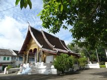 ναός του Λάος luang prabang Στοκ Φωτογραφία