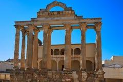 Ναός του Μέριντα Diana Badajoz Ισπανία Στοκ φωτογραφίες με δικαίωμα ελεύθερης χρήσης