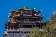 Ναός του μεγάλου Βούδα, παλαιά πόλη Dukezong Στοκ Εικόνες