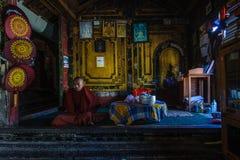 Ναός του Μιανμάρ Στοκ εικόνα με δικαίωμα ελεύθερης χρήσης
