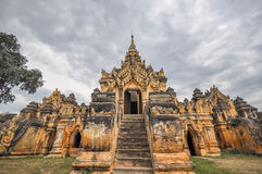 Ναός του Μιανμάρ Στοκ φωτογραφία με δικαίωμα ελεύθερης χρήσης