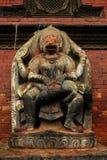 Ναός του Νεπάλ και άγαλμα Θεών Στοκ Εικόνες