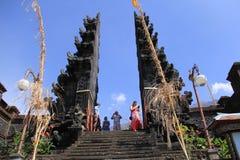 Ναός του νησιού παραδείσου του Μπαλί στοκ εικόνες