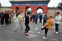 Ναός του ουρανού στο Πεκίνο Κίνα στοκ εικόνες με δικαίωμα ελεύθερης χρήσης