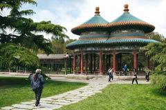 Ναός του πάρκου ουρανού στο Πεκίνο, Κίνα Στοκ εικόνα με δικαίωμα ελεύθερης χρήσης