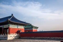 Ναός του Πεκίνου του πάρκου ουρανού Στοκ Φωτογραφίες