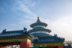 Ναός του Πεκίνου του πάρκου ουρανού Στοκ φωτογραφίες με δικαίωμα ελεύθερης χρήσης