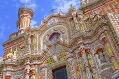Ναός του Σαν Φρανσίσκο acatepec ΧΙΙ Στοκ φωτογραφία με δικαίωμα ελεύθερης χρήσης