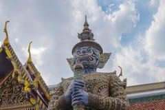 Ναός του σμαραγδένιου Βούδα (το Wat Phra Kaew), Ταϊλάνδη Στοκ εικόνες με δικαίωμα ελεύθερης χρήσης