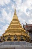 Ναός του σμαραγδένιου Βούδα (το Wat Phra Kaew), Ταϊλάνδη Στοκ εικόνα με δικαίωμα ελεύθερης χρήσης
