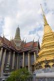Ναός του σμαραγδένιου Βούδα (το Wat Phra Kaew), Ταϊλάνδη Στοκ Εικόνες