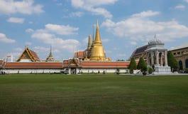 Ναός του σμαραγδένιου Βούδα (το Wat Phra Kaew), Ταϊλάνδη Στοκ Εικόνα