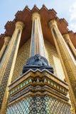 Ναός του σμαραγδένιου Βούδα (το Wat Phra Kaew), Ταϊλάνδη Στοκ Φωτογραφίες