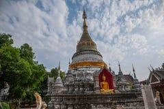Ναός του τοπικού LAN Bupa στην αρχαία πόλη Chiang Mai, Ταϊλάνδη Στοκ εικόνα με δικαίωμα ελεύθερης χρήσης