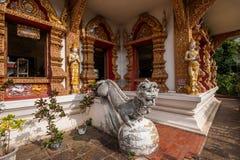 Ναός του τοπικού LAN Bupa στην αρχαία πόλη Chiang Mai, Ταϊλάνδη Στοκ φωτογραφίες με δικαίωμα ελεύθερης χρήσης