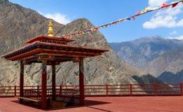Ναός του ύφους του Θιβέτ σε Shangrila, Yunnan, Κίνα Στοκ εικόνες με δικαίωμα ελεύθερης χρήσης