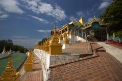 Ναός του Mandalay στη Βιρμανία, Ασία Στοκ φωτογραφία με δικαίωμα ελεύθερης χρήσης
