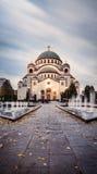 Ναός του ST Sava σε Βελιγράδι στοκ φωτογραφία με δικαίωμα ελεύθερης χρήσης