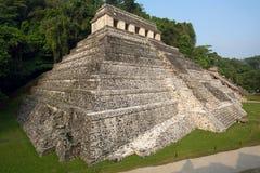 Ναός των επιγραφών, Palenque Στοκ Εικόνα