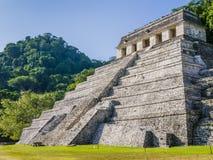 Ναός των επιγραφών, Palenque, Chiapas, Μεξικό Στοκ Φωτογραφίες