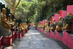 ναός 10000 buddhas Στοκ εικόνα με δικαίωμα ελεύθερης χρήσης