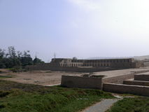 Ναός Acllawasi σε Pachacamac, νότος της Λίμα Στοκ φωτογραφίες με δικαίωμα ελεύθερης χρήσης
