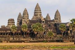 Ναός Angkor σύνθετος Στοκ Εικόνες