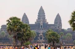 Ναός Angkor σύνθετος Στοκ Φωτογραφία
