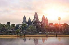Ναός Angkor σύνθετος Στοκ φωτογραφία με δικαίωμα ελεύθερης χρήσης