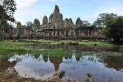 ναός angkor bayon thom Στοκ εικόνα με δικαίωμα ελεύθερης χρήσης