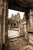 ναός angkor bayon thom Στοκ φωτογραφίες με δικαίωμα ελεύθερης χρήσης