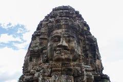 ναός angkor bayon thom Στοκ Φωτογραφίες
