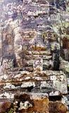 Ναός Angkor Thom, Καμπότζη Bayon προσώπου Στοκ φωτογραφία με δικαίωμα ελεύθερης χρήσης